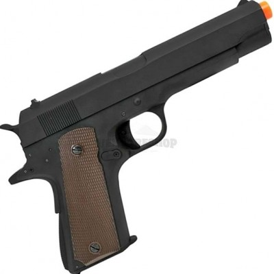 PISTOLA AIRSOFT AEP COLT M1911 SLIDE METAL 6.0MM CM123 - CYMA