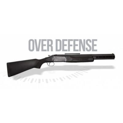 Espingarda Over Defense - Com Coronha e Telha Sintética – Acabamento Standard – Oxidado - Somente cal. 12