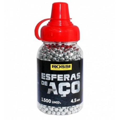 ESFERA DE AÇO ROSSI 4,5mm - 1500 UNIDADES