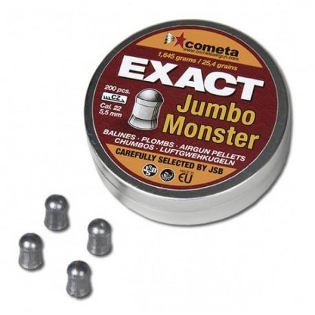 CHUMBINHO JSB JUMBO EXACT MONSTER 5,5MM - 200 unidades